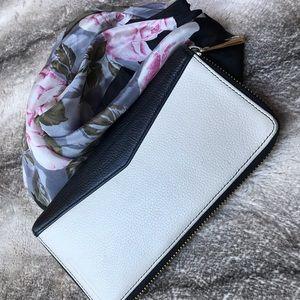 Aimee Kestenberg Zippered Organizer Wallet/Clutch